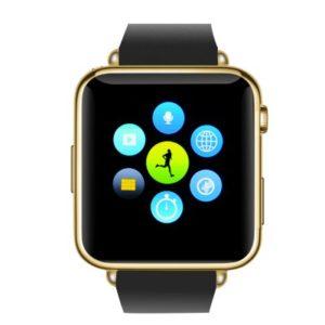 Smartwatch Phone GSM Bluetooth Oro (1)