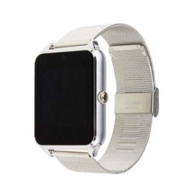 Smartwatch GT08 per Android e iPhone Argento